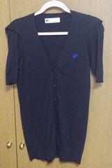 スライ半袖 カーディガン サイズ1 ブラック