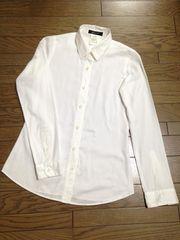 スタニングルアー ホワイト コットンシャツ