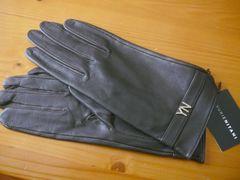 ユリエニタニ羊皮革手袋20サイズS〜Mブラウン