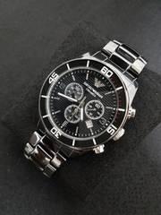 エンポリオ・アルマーニ 腕時計 セラミカ AR1421 ブラック 新品!