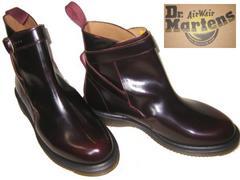 ドクターマーチン新品JONI本革サイド ベルト ブーツ16102601uk8