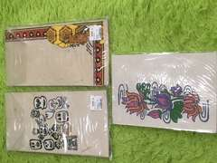 手作り紙ハガキ&封筒セット