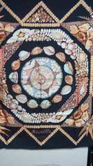 エルメス スカーフ  カレ ROCAILLE貝殻