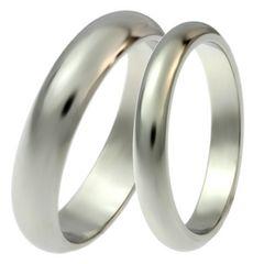 ステンレス ペアリング 指輪2本 即決で送料無料 ミラー