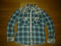 BACKLASHバックラッシュピッグレザーチェックシャツ3豚革
