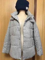 美品★chocol raffine robe ジャケット ★フード取り外し可能★M