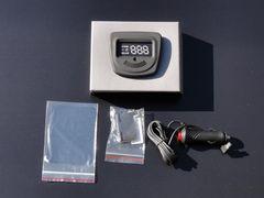 GPSヘッドアップディスプレイ スピードメーター