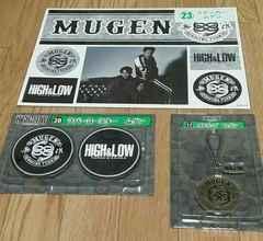 ☆high&low MUGEN コ-スタ- ステッカ- ストラップ セット☆
