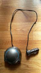 シガーソケット3連USB充電器USB1ポートLEDブルー送料込み