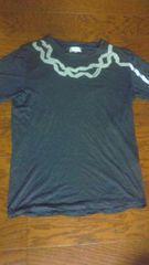 LANVIN en Bleu Tシャツ グレー 46 safari joker sense