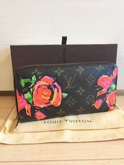 1円 ◆正規品◆ 超美品 ルイヴィトン モノグラム ローズ 長財布