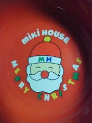 mikiHOUSE ミキハウス クリスマス デザイン 食器 スプーン フォーク セット 箱 レトロ