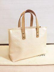 1円の◆正規品◆ 極上美品 ヴェルニ リードPM バッグ ピンク