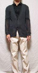 ◆LUI'Sルイス◆透かし編みニットカーディガン