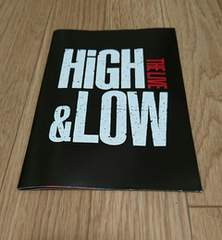 ☆HiGH&LOW LIVE 冊子☆