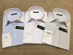 長袖新品ワイシャツ クレリック 3枚セット Mサイズ