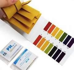 B75 pH試験紙 80枚×2セット 標準色カード付 安い 送料無料