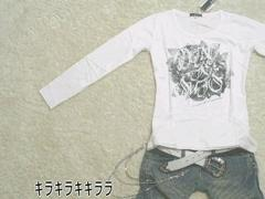 ★ARMEE FRANCAISE★プリントロンTeeホワイトL