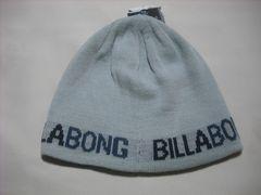 mb418 男 BILLABONG ビラボン リバーシブル ニット帽 ビーニー