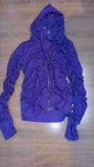 Mサイズ濃い紫色パーカー��1021