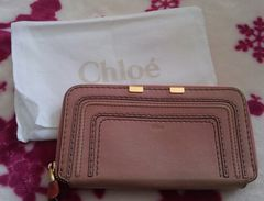 クロエ Chloe 財布 長財布 ピンク マーシ