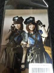 AKB48 大島優子 前田敦子 ギンガムチェック 特典 写真 �@