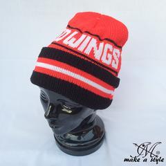 デトロイト レッドウィングス ニットキャップ ニット帽 NHL 435