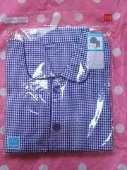男の子110☆薄手の長袖パジャマ☆青
