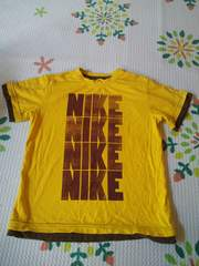 NIKE Tシャツ 120 USED!! イエロー