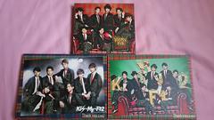 Kis-My-Ft2��Thank you�����I��CD�̂݁{CD&DVD��3�Z�b�g