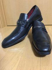 stefanorossi 革靴 新品 28 本革 黒 REGALに負けない ステファノ