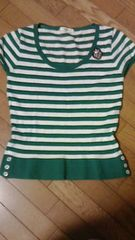 白×グリーンの1着です。