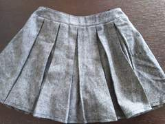 ズボン付き プリーツスカート