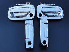 日産 キャラバン E25 メッキドアハンドル 5DR 交換タイプ(リア鍵穴2個)