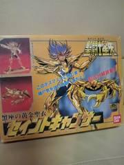 新品 貴重聖闘士星矢 プラモ 蟹座 セイントキャンサー デスマスク ゴールド