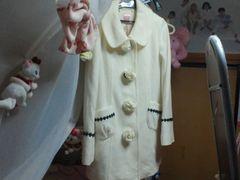 LD Prime エルディープライム お花付きホワイトコート