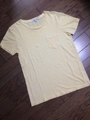 美品BEAMS ポケット付Tシャツ made in USA  ビームス