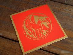 処分大特価◆アメリカのヴィンテージ カード 男性マーク ミニカード[GR#52]