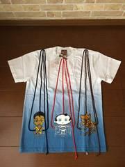 ★映画ストリングス☆キャラクターTシャツ青☆剛 慎吾☆未使用