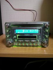 ADDZEST アゼスト CD.MD.2dinデッキ DMZ635LP AUX完備 カラーチェンジ
