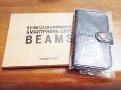ビームス/BEAMS  レザースマホケース