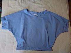moussy シャツ ブルー