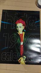 X JAPAN hide カレンダー 1999年 ヒデ