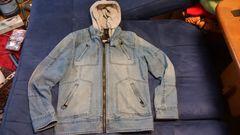 G-STAR 、メンズジージャン、フード付きデニムジャケット