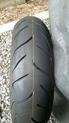 バイクタイヤ160/60/17、ほぼ新品、CB400
