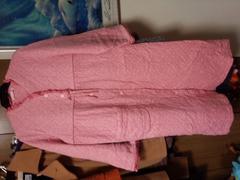 ピンクロングガウンコート 日本製 Mサイズ