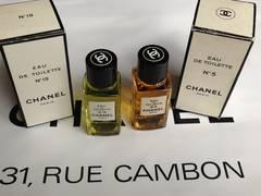 CHANEL No.5&No.19 EAU DE TOILETTE 2点セット/19ml