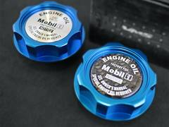 VMS社 アルミ製 オイルキャップ スズキ用 ブルー T3