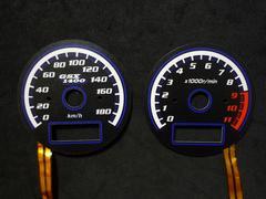 GSX1400 ELメーターパネル 180km