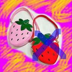 【新品】イチゴのショルダー(PINK)